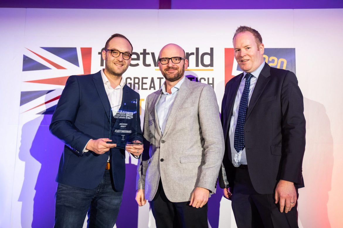 Mobilleo wins Innovation in Mobility Award