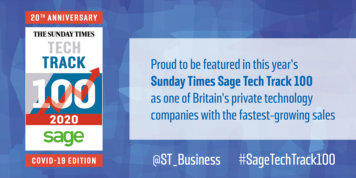 Fleetondemand featured in Sunday Times Sage Tech Track 100