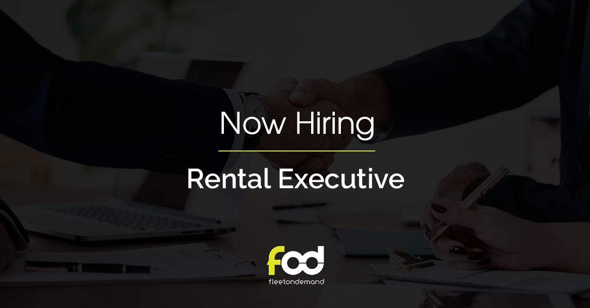POSITION FILLED: Rental Executive