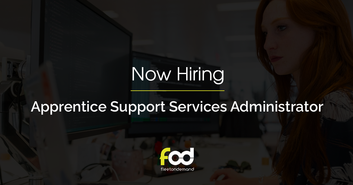 Apprenticeship Opportunity: Support Services Administrator